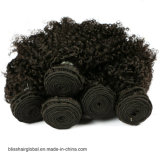 브라질 Virgin 머리 아기 깊은 컬 사람의 모발 제품 3개 뭉치