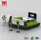 Горячая продажа офиса диван моды кожаный диван для отдыха с диваном