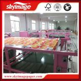 Roller Drum Heat Press Machine para Sublimation Paper Impressão Digital em Tecidos