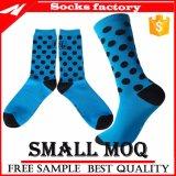 Оптовое платье людей носок хлопка Customed верхнего качества конструкции способа Socks лодыжка Anti-Slip Scoks