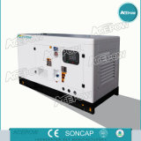 3 генератор участка 50Hz 30kVA Cummins звукоизоляционный тепловозный