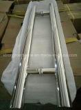 Maniglia di portelli di vetro dell'acciaio inossidabile grande, maniglia di portello di vetro di scivolamento