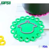 De Mat Placemat Potholder van het Silicone van de Rang van het Voedsel van Dishwashable