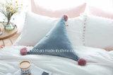 創造的な円柱整形詰められたソファーの枕