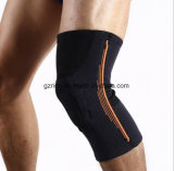 Rodilla elástico de entrenamiento Protecter del soporte de la rodilla de la protección de la rodillera del voleibol de la seguridad del deporte de las rodilleras del baloncesto