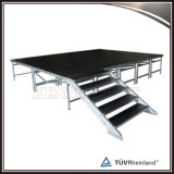 Estágio portátil da plataforma do evento móvel de alumínio do estágio