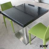 Moderner Nahrungsmittelgerichts-Möbel-Schwarz-Tisch