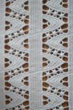 신식 폴리에스테 리본 모양 Emrboidery 패턴을%s 가진 물자 레이스 직물