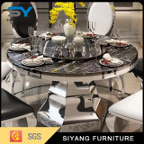 食堂の家具のフォーシャンの大理石のダイニングテーブル