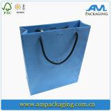 Dongguan는 호화스러운 의복 종이 봉지 쇼핑 백 포장을 예약했다