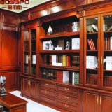 Office Boocase Corner Grande bibliothèque avec portes (GSP18-034)
