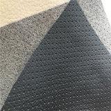 Lichee Grain Punching Microfiber Leather PU Leather para cobertura de assento de carro (HS-M314)