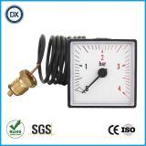003 de 40mm Capillaire Manometer van de Luchtdrukmeter van het Roestvrij staal/Meters van Maten