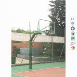 En masse de métal de gros règlement Meilleuresécurité vert résidentielPôle de basket-ball