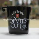 새로운 짐 광속 위스키 훅을%s 가진 플라스틱 보일러 제조자 셧 잔 컵