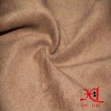 Tela del ante del Spandex del poliester para la ropa/la capa/el sofá de los zapatos