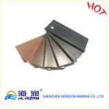 Decking quente do PVC WPC do revestimento de Pwc da venda/composto plástico de madeira