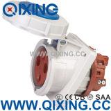Гнездо штепсельной вилки Pin воды & древесины IEC309-2 круглое промышленное