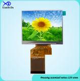 3.5インチTFT LCDスクリーン表示320 (RGB) X240解像度の屋外および屋内LCD表示