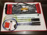 Ракетка Shuttlecock комплектов ракеток Badminton с сетью