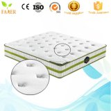Colchón de cama de espuma de memoria de alta densidad King Queen