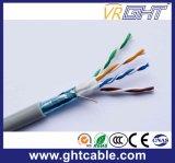 Câble cat5e d'intérieur de ftp de l'en cuivre 24AWG