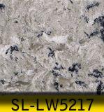Pedra artificial SL-Lw5217 de quartzo para bancadas