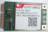 Support de carte SIM Module LTE7100 des interfaces riches, y compris, USB2.0 UART, SPI, I2C, clavier, PCM