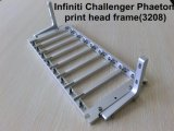 Marco de la cabeza de impresora de la galaxia del desafiador de Infiniti/marco/corchete de la bandeja para Fy-3206 Fy-3208 Fy-3278. Marco de la cabeza de impresora Dx5