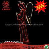 LED-im Freiendekoration-Engels-Motiv-dekoratives Licht für Weihnachten