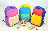 Mochila bolsa de mano de algodón de color Mochila Estudiante