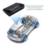 Medidor sem fio digital Solar TPMS System (informações sincronizadas de quatro rodas, interruptor automático) com sensor de pneu interno para carro, furgão, veículo fora de estrada