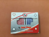 Playingcards en doble plástico del rectángulo del PVC