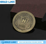 La pièce de monnaie faite sur commande d'enjeu de souvenir de pièce de monnaie de médaille ouvre le cadeau de promotion