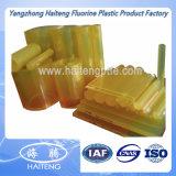 Hoja transparente amarilla de la PU de la hoja del poliuretano del color hecha con el material del poliéter de la Virgen del 100%