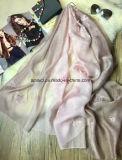 100% de lana estolas de seda / Chales bufanda En la venta al por mayor (AXH42315500)