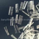 Pp.-Ineinander greifen-Faser-Polypropylen-Mikronettofaser für Baumaterial