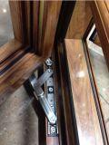 Nouvellement en aluminium avec double fenêtre à battant Burgular-Proof (BHA-CW54)