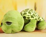 Jouet mignon de peluche de tortue d'animal de mer