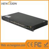 20 interruptor portuário combinado controlado da rede Ethernet de Tx 4 do gigabit