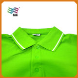 La calidad del 80% de algodón cuello Polo T camiseta con impresión personalizada