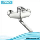 Les mesures sanitaires robinet mélangeur de cuisine murale à poignée unique JV 71905