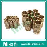 Preiswerte kundenspezifische Hasco Bronze/Stahlkugel-Rahmen-Haltering