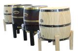 Barriles de cerveza de madera desaparecidos insignia de encargo del soporte para 3L 5L