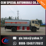 4X2トラック8000リットルの円滑油の石油燃料タンクガソリン輸送の