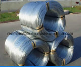 Indivíduo revestido de zinco Arame de aço galvanizado Arame galvanizado quente, fio terrestre, fio macho