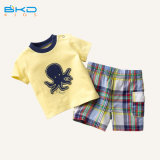 Soft Handfeel gots de ropa infantil ropa para niños conjunto