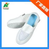 Trabajo de los agujeros de PVC antiestático ESD Linkworld calzado, zapatos de marca