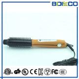 Электрическо при волосы индикации LCD выправляя щетку