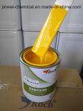 Kit auto de la pintura del coche de la carrocería del esmalte de la restauración de acrílico amarilla de la sola etapa